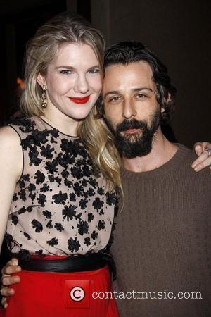 Lily Rabe and Jeremy Shamos  After Party for the Broadway World Premiere of 'Seminar' held at Gotham Hall party...
