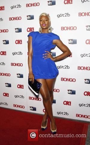 Eva Marcille OK magazine 'Sexy Singles Party' held at The Lexington Social House - Arrivals Los Angeles, California - 14.04.11