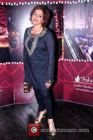 Meera Syal Shaka Zulu birthday celebration, held at Shaka Zulu in Camden - Arrivals London, England - 04.08.11