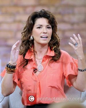 Shania Twain  appears on 'The Marilyn Denis Show' to promote her latest book 'From This Moment On' Toronto, Canada...