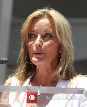 Bo Derek attends the ceremony for a star on the Hollywood Walk of Fame, held on Hollywood Boulevard Los Angeles,...