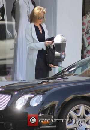 Sharon Stone shopping in Beverly Hills Los Angeles, California - 22.03.11