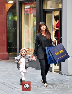 Sheree Murphy out shopping with her daughter in Liverpool Liverpool, England -