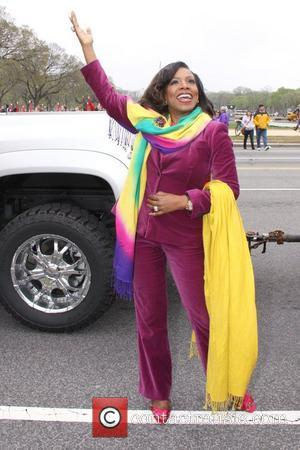 Sheryl Lee Ralph, one of the performers in 2011 Cherry Blossom Parade, is seen at the National Mall on Constitution...