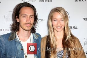 Incubus vocalist Brandon Boyd (L) and actress Baelyn Neff Shine On Sierra Leone 5th Annual Fundraiser at a private residence...