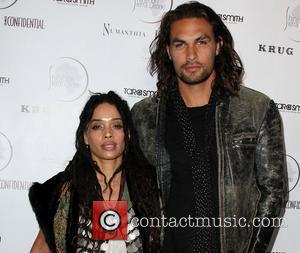 Actors Lisa Bonet and Jason Momoa Shine On Sierra Leone 5th Annual Fundraiser at a private residence Venice, California -...