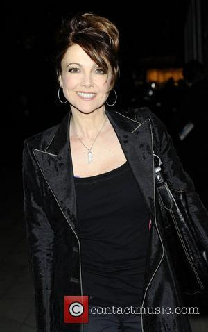 Emma Samms at the gala performance of 'Shoes' at The Peacock Theatre. London, England - 16.02.11