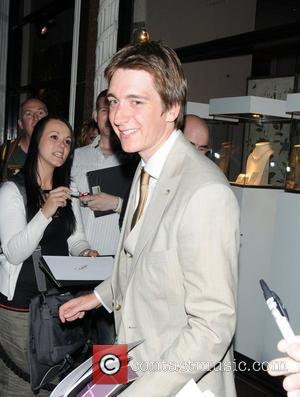 Oliver Phelps The 3rd Annual Shooting Stars Benefit at Asprey Store - departures London, England - 03.08.11