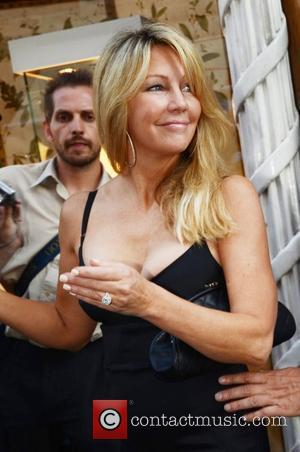 Heather Locklear The 3rd Annual Shooting Stars Benefit at Asprey Store - departures London, England - 03.08.11