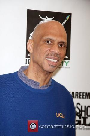Kareem Abdul-Jabbar  Kareem Abdul-Jabbar presents on the Shoulders of Giants at the Schomburg center for research in black culture...