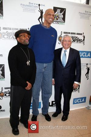 Spike Lee and Kareem Abdul-jabbar