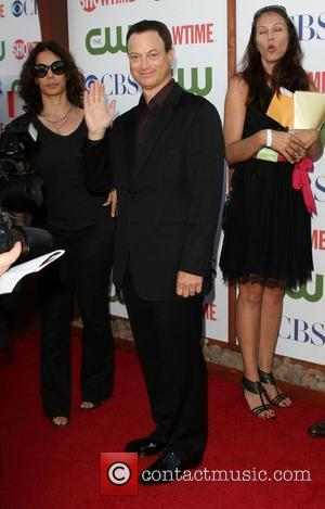 Gary Sinise CBS,The CW And Showtime TCA Party Held At The Pagoda Beverly Hills, California - 03.08.11
