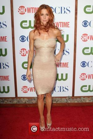 Poppy Montgomery CBS,The CW And Showtime TCA Party Held At The Pagoda Beverly Hills, California - 03.08.11