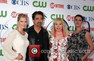 A.J Cook, Joe Mantegna, Kirsten Vangsness, Padget Brewster CBS,The CW And Showtime TCA Party held At The Pagoda Beverly Hills,...