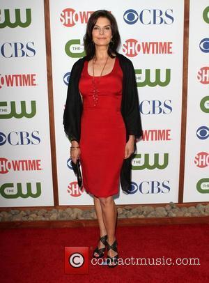 Sela Ward CBS,The CW And Showtime TCA Party Held At The Pagoda Beverly Hills, California - 03.08.11