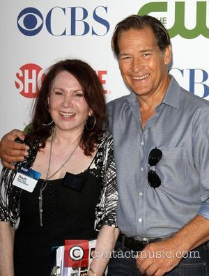 James Remar and Rouhi      CBS,The CW And Showtime TCA Party Held At The Pagoda Beverly...