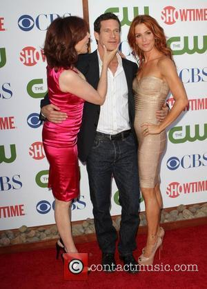 Marilu Henner, Dylan Walsh, Poppy Montgomery      CBS,The CW And Showtime TCA Party Held At The...