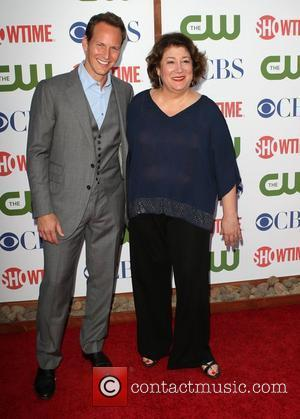 Patrick Wilson, Margo Martindale      CBS,The CW And Showtime TCA Party Held At The Pagoda Beverly...