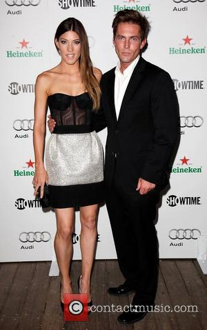 Jennifer Carpenter and Desmond Harrington Showtime Emmy Nominee Reception at Skybar inside the Mondrian Hotel Los Angeles, California - 17.09.11