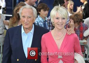 Michael Winner and guest Shrek The Musical - press night held at Theatre Royal, Drury Lane - arrivals. London, England...
