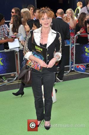 Samantha Bond Shrek The Musical - press night held at Theatre Royal, Drury Lane - arrivals. London, England - 14.06.11