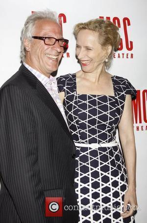 Robert Lupone and Laila Robins