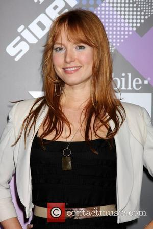 Alicia Witt T-Mobile Launch Party of the new Sidekick 4G held at Private Lot by Beverly Hilton hotel Los Angeles,...