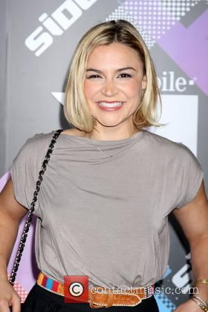 Samaire Armstrong  T-Mobile Launch Party of the new Sidekick 4G held at Private Lot by Beverly Hilton hotel Los...