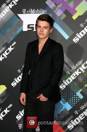 Xavier Samuel T-Mobile Launch Party of the new Sidekick 4G held at Private Lot by Beverly Hilton hotel Los Angeles,...