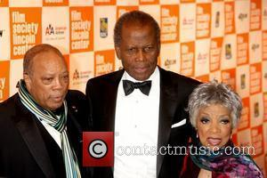 Quincy Jones, Ruby Dee and Sidney Poitier