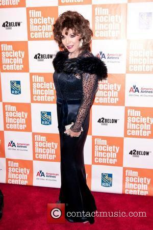 Joan Collins To Release Fourth Autobiography