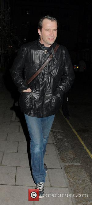James Purefoy,  leaving the Theatre Royal Haymarket after performing in 'Flare Path' London, England - 21.03.11