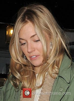 Sienna Miller leaving the Theatre Royal Haymarket where she is performing in