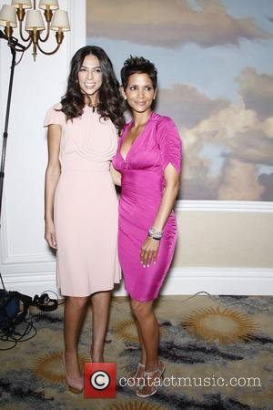Terri Seymour and Halle Berry