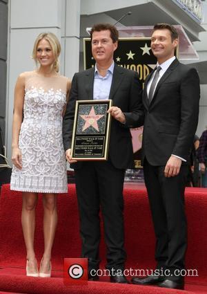 Carrie Underwood, Ryan Seacrest and Simon Fuller