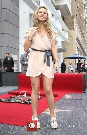 Haley Reinhart Simon Fuller receives a star on the Hollywood Walk of Fame Los Angeles, California - 23.05.11