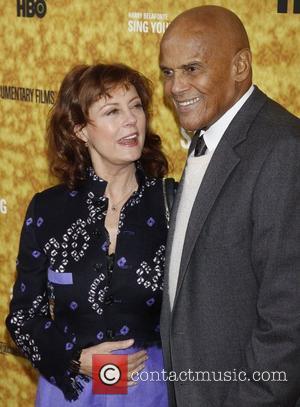 Susan Sarandon and Harry Belafonte