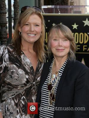 Sissy Spacek posing with a friend Sissy Spacek receives a star on the Hollywood Walk of Fame, held on Hollywood...