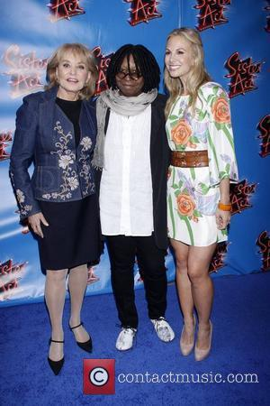 Barbara Walters, Elisabeth Hasselbeck and Whoopi Goldberg