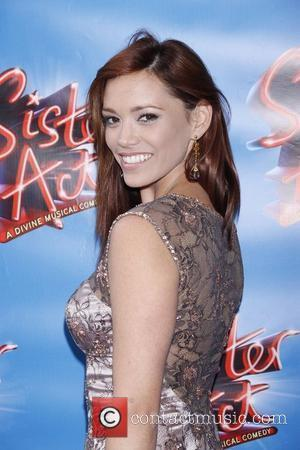 Jessica Sutta Opening night of the Broadway musical production of 'Sister Act' at the Broadway Theatre - Arrivals New York...