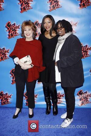 Joy Behar, Grace Hightower and Whoopi Goldberg