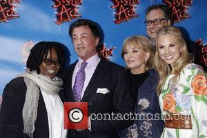 Whoopi Goldberg, Barbara Walters, Douglas Carter Beane, Elisabeth Hasselbeck and Sylvester Stallone