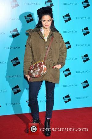 Bip Ling Skate at Somerset House VIP launch - arrivals. London, England - 21.11.11