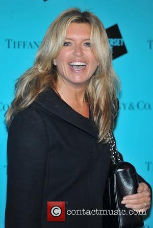 Tina Hobley Skate at Somerset House VIP launch - arrivals. London, England - 21.11.11