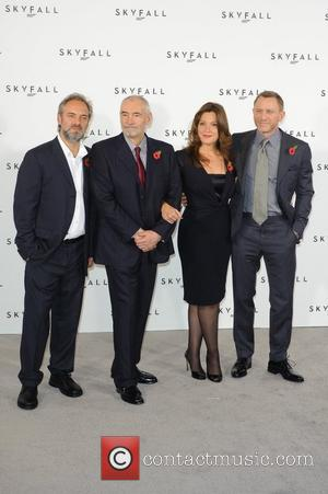 Barbara Broccoli, Sam Mendes, Daniel Craig