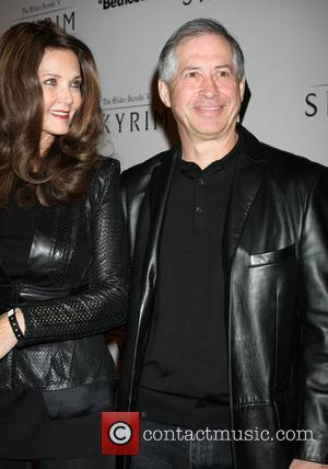 Lynda Carter and Robert A. Altman The Elder Scrolls V: Skyrim Official Launch Party held at Belasco Theatre Los Angeles,...