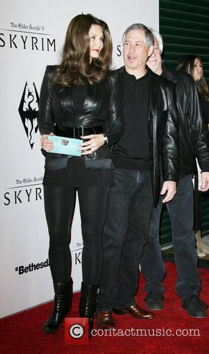 Lynda Carter and husband Robert A. Altman The Elder Scrolls V: Skyrim Official Launch Party held at Belasco Theatre Los...