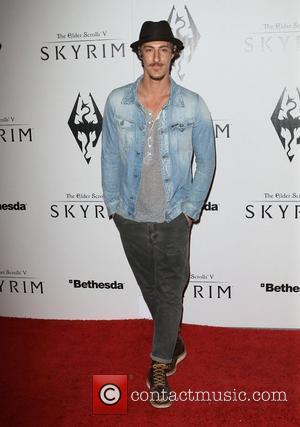 Eric Balfour The Elder Scrolls V: Skyrim Official Launch Party held at Belasco Theatre  Los Angeles, California - 08.11.11