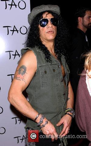 Slash hosts his concert after party at Tao nightclub inside The Venetian Resort and Casino Las Vegas, Nevada - 27.01.11