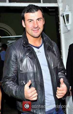 Joe Calzaghe at the Slazenger Party held at The House of St Barnabas - Arrivals  London, England - 23.06.11